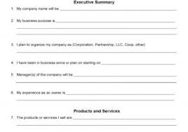 Downloadable Business Plan Template Businesses Plan Templates One Page Business Plan With Examples