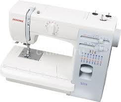 Купить <b>Швейная машина JANOME</b> 5515 белый в интернет ...