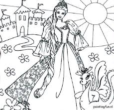 Barbie And Ken Coloring Pages Barbie Cartoon Coloring Pages Barbie