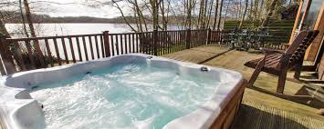 get that ahh moment as you relax into your own private and secluded hot tub