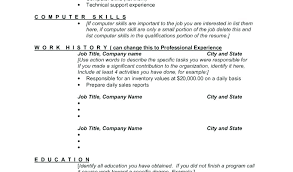 Skills List For Resume Sarahepps Com