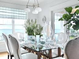 dining room glass table glass table top dining room beach style with table setting neutral colors dining room glass table