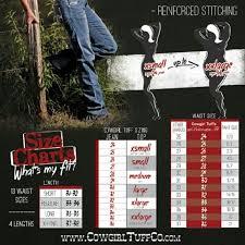 Tuff Jeans Size Chart Cowgirl Tuff Size Chart For Cowgirl Tuff Cowgirl Tuff Other