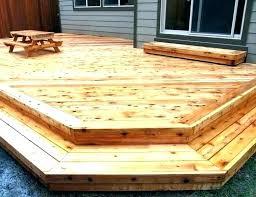 Hardwood Lumber Prices Chart Redwood Decking Prices S Deck Birrafanelli Co