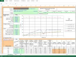 Pile Design Spreadsheet Design Of Piles Based On Load Capacity