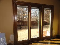 triple pane sliding glass door