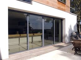 image showing the idsystems glazing used on the edge sliding door