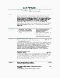 Resume Sample For Teaching A Teacher Resume Examples Free New Resume Sample For English Teacher