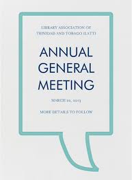 Save The Date Annual General Meeting Agm Library