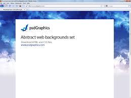Website Template Background
