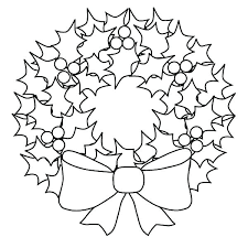 Wreath Coloring Page Advent Wreath Coloring Sheet Page How To Draw