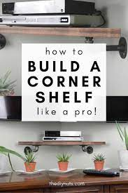 build this clever diy corner shelf for