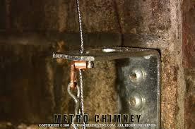 top closing damper bracket in the firebox flue interior 02