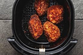 keto pork chops in the air fryer low
