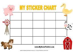 Reward Chart Template Toddler Printable Reward Charts My Bored Toddler