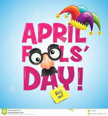April Fool`s Day, Typography, Vector Illustration, Colorful, Ca Stock  Vector - Illustration of colorful, comedy: 109236339