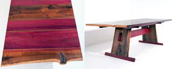 purple heart wood furniture. Eric-manigian-walnut-dining-table-detail.jpg Purple Heart Wood Furniture H
