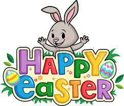Happy Easter Cartoon Clipart Vector - FriendlyStock