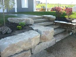 cost of landscape stone rock wall landscaping armour stone wall with natural steps adding this retaining wall landscaping stone cost per cubic yard