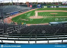 Minor League Baseball Lansing Lugnuts Editorial Image