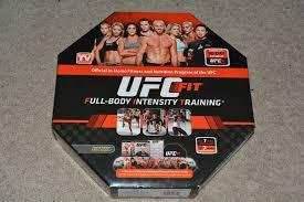 ufc fit full body intensity home fitness program 12 dvd set ebay