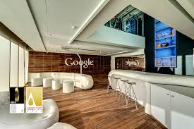 Google tel aviv israel offices Office Interiors Sharethis Copy And Paste Camenzind Evolution Google Officetel Aviv Google Office Architecture Technology