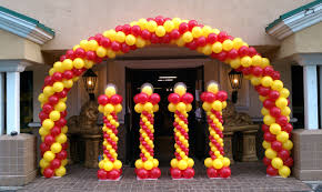 Balloon Decoration Design How to Make a Balloon Arch Balloon Decoration Ideas YouTube 2