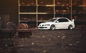 mitsubishi evo 8 stance. jdm tuning mitsubishi lancer evolution 8 stance sportcars white evo