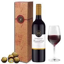mcwilliams award winning wine gift set gift delivery in melbourne sydney australia 28 00
