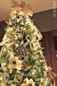 christmas tree decor michaels dream tree challenge reveal christmas justaddmichaels via lilblueboo