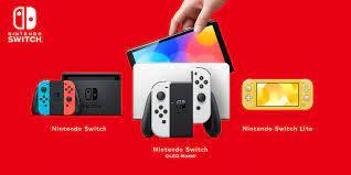 Die Nintendo Switch-Familie