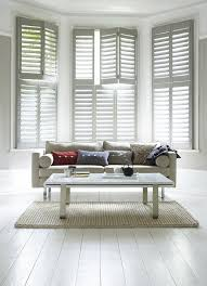 Best Shutter Solutions For Bay Windows Shutterly Now Shutterly Fabulous  With Regard To Bay Window Blind Solutions Decor