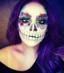 original sugar skull makeup for
