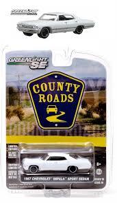 29770 Greenlight 1967 Chevrolet Impala Sport Sedan - County Roads ...