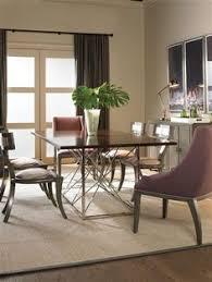 vanguard furniture room scene tfh rs 102 dining table