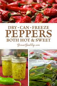 looking for ways to preserve peppers learn several ways to preserve peppers so that you