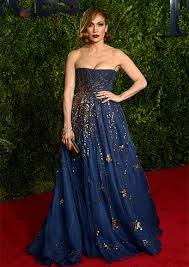 makeup for dark blue dress