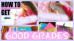 how to get good grades and overall enjoy school steps