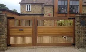 bespoke wooden garden gates es uk the garden trellis company contemporary driveway gates uk