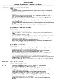 Automation Test Engineer Resume Examples ...