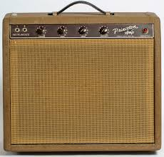 the unique guitar blog the fender princeton amplifer the brown princeton amp was the first step fender took in modernizing its design the control panel was on the front of the amp