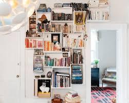 build bookshelves from old dresser drawers