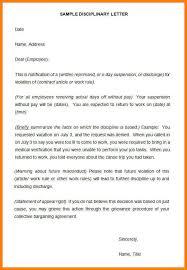 9 Suspension Letter To Employee Phoenix Officeaz