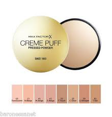 Max Factor Creme Puff Colour Chart Details About Max Factor Creme Puff Compact Powder 21g Face Powder
