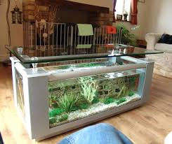 home fish tanks coffee table aquarium silver color home decor homemade fish tank divider