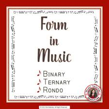 The rondo also came to be used as a separate form. Musical Form Binary Ternary And Rondo By Musicteacherresources