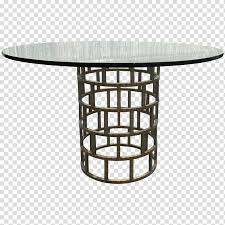 table stainless steel glass seat round