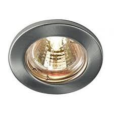 spotlights ceiling lighting. Fixed GU10 Ceiling Spotlight Downlight Satin Finish UKEW® (Fwhitegu10) By Www.ukew.co.uk Spotlights Lighting