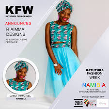 Namibian Designers Designers Katutura Fashion Week