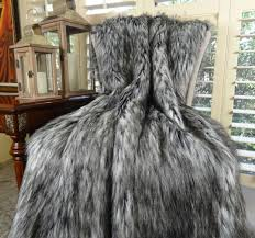 gray faux fur throw. Fine Throw Image 0 Inside Gray Faux Fur Throw L